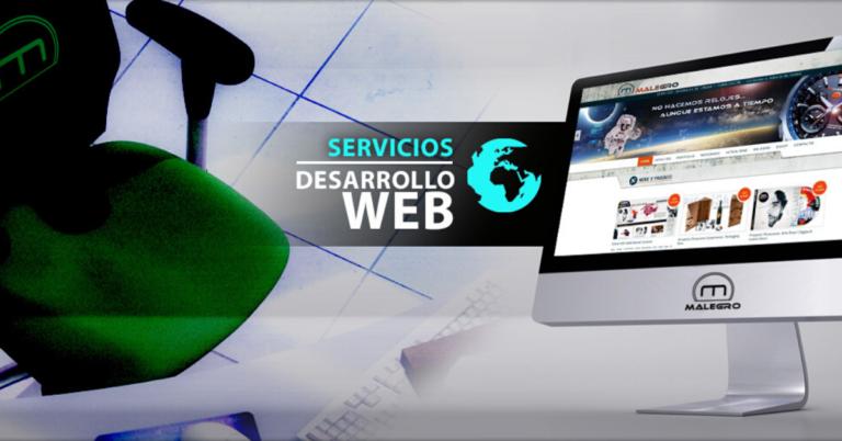 servicios de desarrollo web