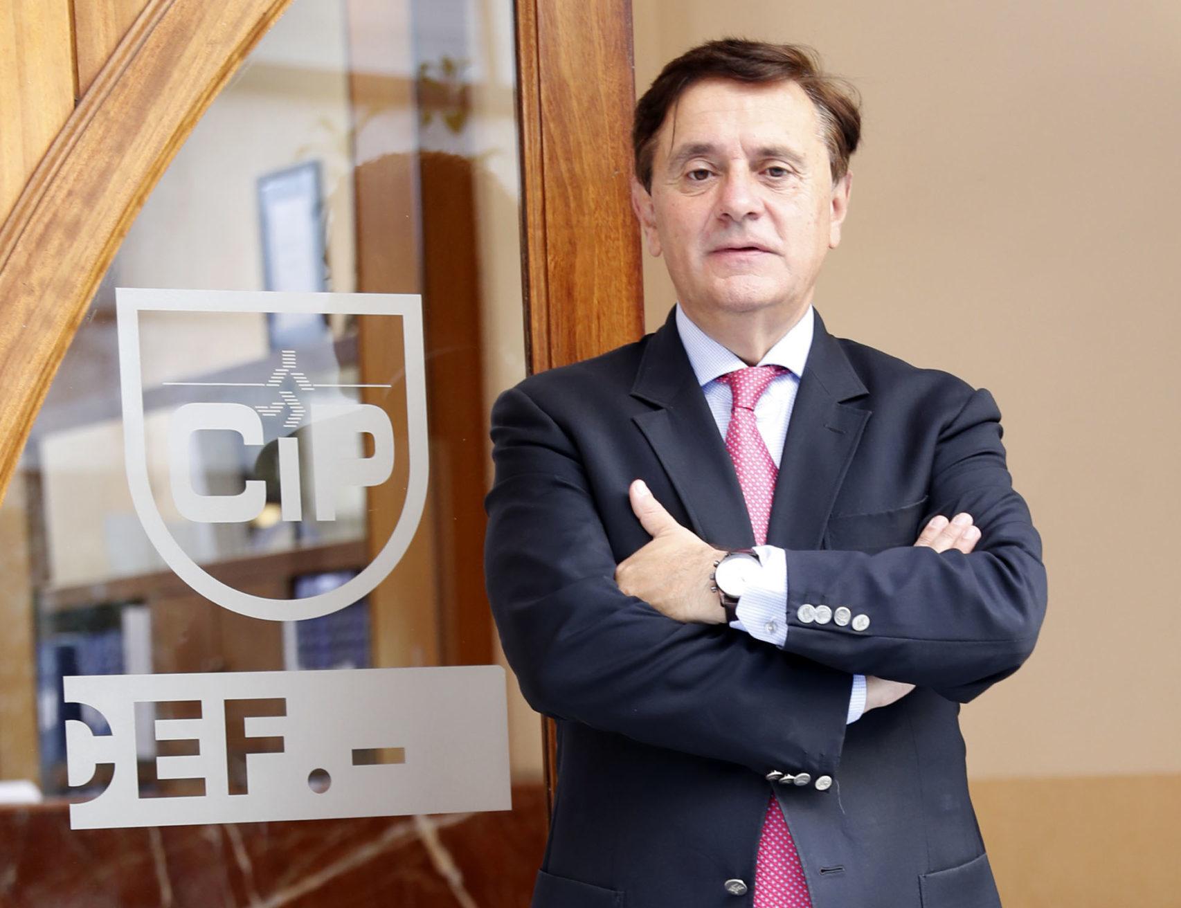 PEDRO REY DIRECTOR DE CIP Y CANDIDATO A LA CEG